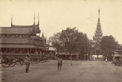 East Gate of the inner enclosure of the Palace, [Mandalay]